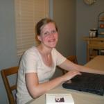 Anna Preparing Announcements
