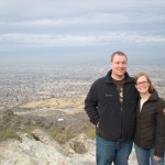 At South Mountain (as some dust flew into my eye)