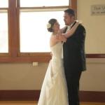 Joe & Kristin's first dance.