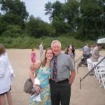 Anna with her Grandpa Fredrickson