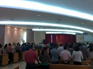Sunday Worship in Córdoba