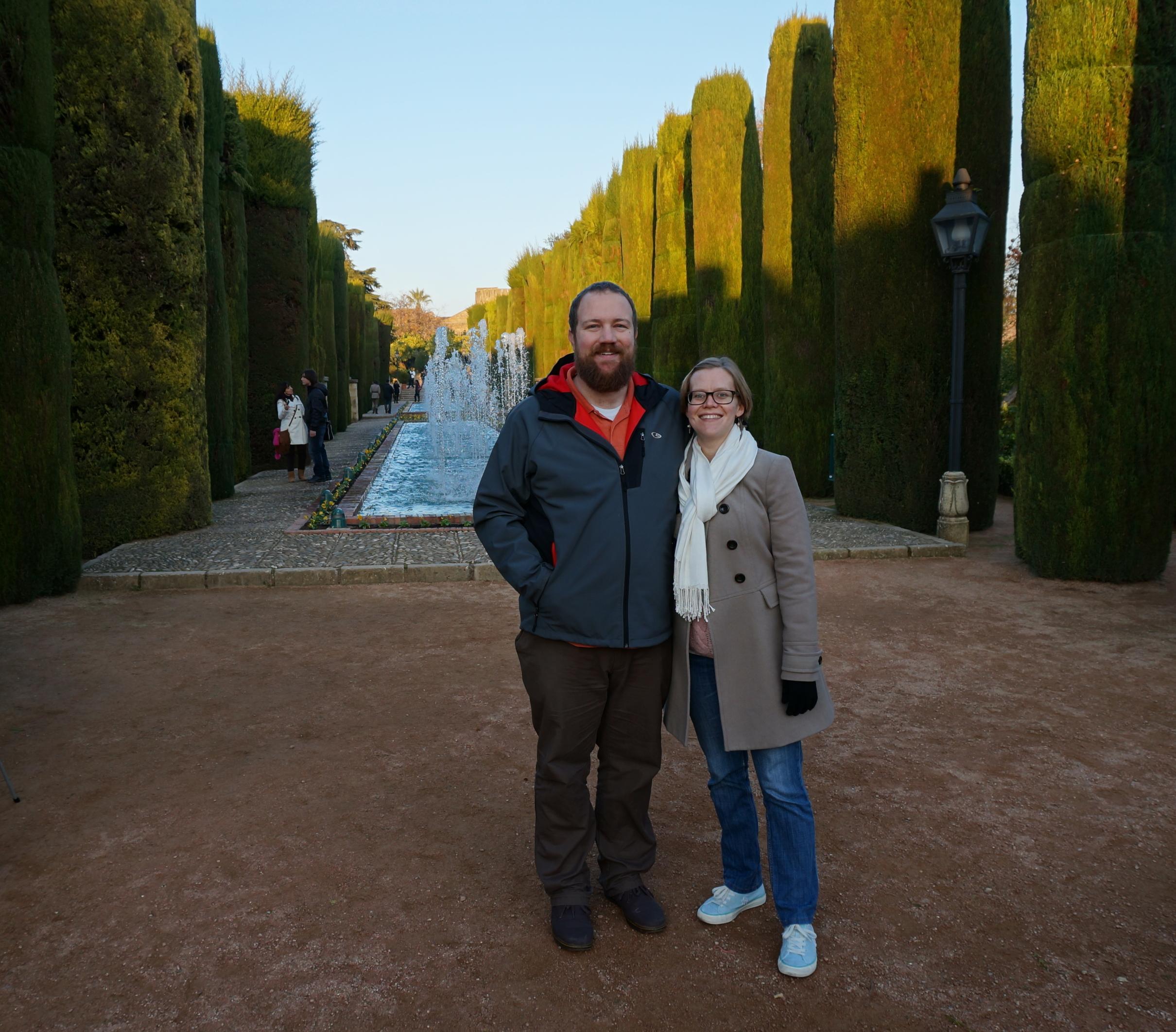 The Gardens of the Alcázar de los Reyes Cristianos